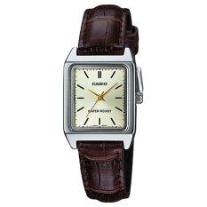 Đồng hồ nữ dây da Casio LTP-V007L-9EUDF (Nâu)