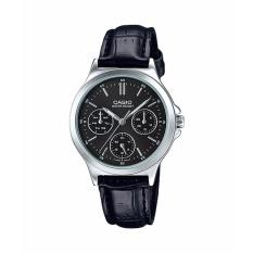 Đồng hồ nữ dây da Casio Anh Khuê LTP-V300L-1AUDF