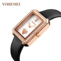 Thông tin Sp Đồng hồ nữ dây da đính đá YOHEMEI CH381 – L1A  Tini shop