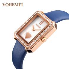Đồng hồ nữ dây da đính đá YOHEMEI CH381 – L2A