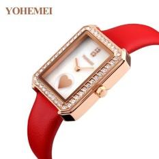 Nơi Bán Đồng hồ nữ dây da đính đá YOHEMEI CH381 – L4A  Tini shop