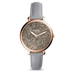 Đồng hồ nữ dây da Fossil ES4096 (Xám phối đen)