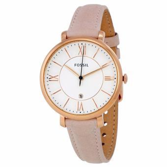 Cách mua Đồng hồ nữ dây da Fossil FO73 (Trắng)