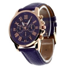 Đồng hồ nữ dây da Geneva 6170G (Tím)