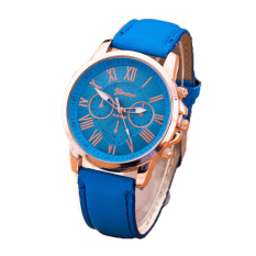 Đồng hồ nữ dây da Geneva 6170G (Xanh)
