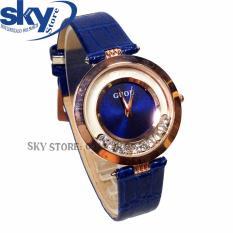 Đồng hồ nữ dây da Guou G2017