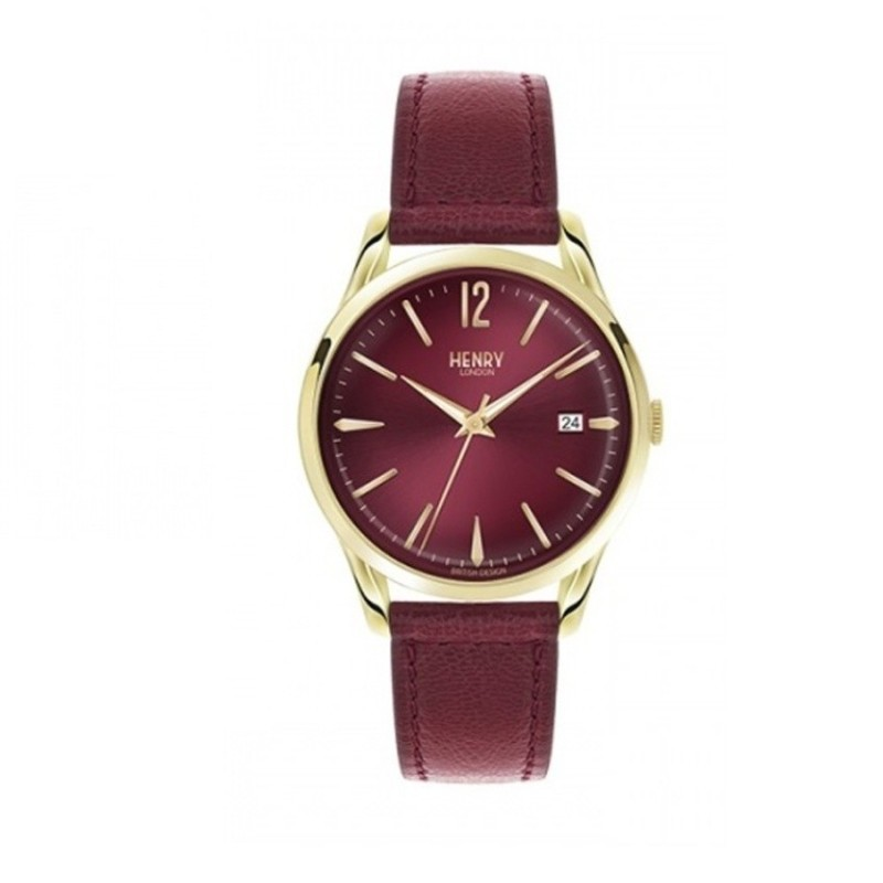 Nơi bán Đồng hồ nữ dây da Henry London HL39-S-0066 (Tím) -  Hãng Phân phối chính thức