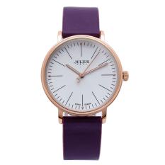 Đồng hồ nữ dây da JULIUS J1005 (Tím)