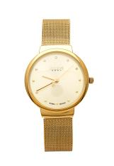 Đồng hồ nữ dây da Julius JU1052 (Vàng)