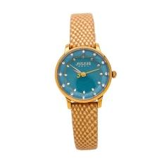 Đồng hồ nữ dây da Julius PJU1027 (Xanh dương)