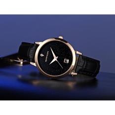 Đồng hồ nữ dây da Sanda B086 lịch ngày Analog có chống nước