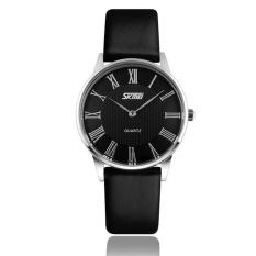 Đồng hồ nữ dây da SKMEI 051115NU (Đen)