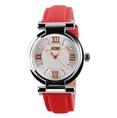 Nơi nào bán Đồng hồ nữ dây da Skmei 9075 (Đỏ)