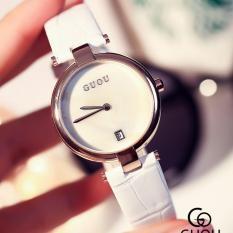 Đồng hồ nữ dây da thương hiệu GUOU CH275