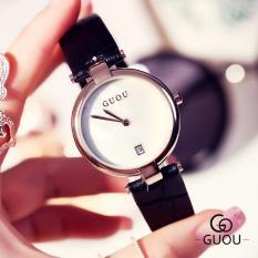 Đồng hồ nữ dây da thương hiệu GUOU G88612