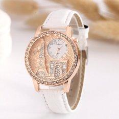 Đồng hồ nữ dây da tổng hợp Geneva PKHRGE041-1 (trắng)
