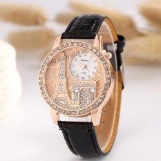Đồng hồ nữ dây da tổng hợp Geneva PKHRGE041-6 (đen)