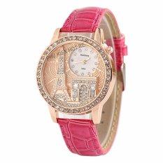Đồng hồ nữ dây da tổng hợp Geneva PKHRGE041-8 (hồng)