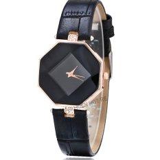 Đồng hồ nữ dây da tổng hợp Geneva PKHRGE043-3 (đen)