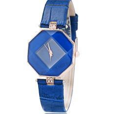 Đồng hồ nữ dây da tổng hợp Geneva PKHRGE043-4 (xanh dương)