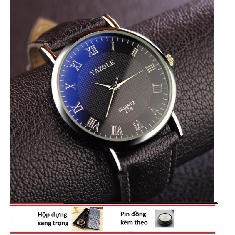 Nơi bán Đồng hồ nữ dây da  Yazole 278 năng động