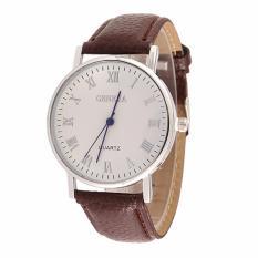 Đồng hồ nữ dây giả da Geneva AY030_BR6617