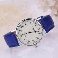 Đồng hồ nữ dây giả da Geneva AY030_BU6617