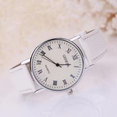 Đồng hồ nữ dây giả da Geneva AY030_WH6617