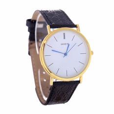 Đồng hồ nữ dây giả da Geneva SB034_BL8372 (Đen)