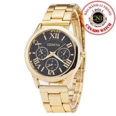 Đồng hồ nữ dây hợp kim Geneva GE008-2