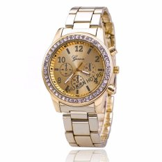 Đồng hồ nữ dây hợp kim Geneva PKHRGE016-2 (Vàng)