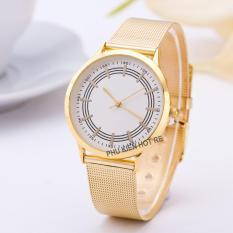 Đồng hồ nữ dây hợp kim Geneva PKHRGE040-1 (mặt trắng)
