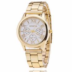 Đồng hồ nữ dây hợp kim GENEVA ST032_GD5067 (Vàng)