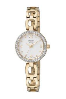 Đồng hồ nữ dây kim loại Citizen EJ6072-55A (Vàng)