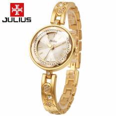 Đồng hồ nữ dây kim loại JULIUS JU954 (Vàng)