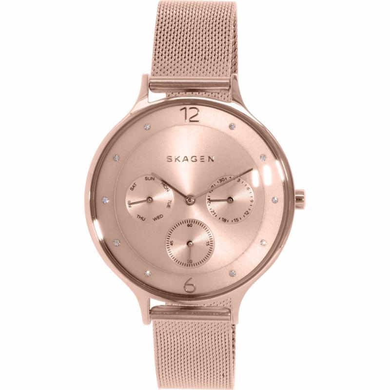 Nơi bán Đồng hồ nữ dây kim loại Skagen SKW2314 dây thép không gỉ (Vàng hồng) - Hàng nhập khẩu