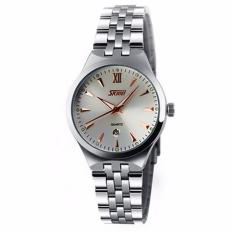 Đồng hồ nữ dây kim loại SKMEI 0511.05NA (Trắng)