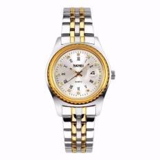 Đồng hồ nữ dây kim loại SKMEI (Vàng)