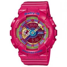 Đồng hồ nữ dây nhựa Baby-G BA-112-4A (Hồng đậm)