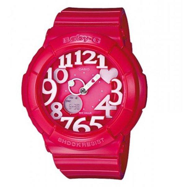 Đồng hồ nữ dây nhựa Baby-G BGA-130-4B (Hồng đậm)