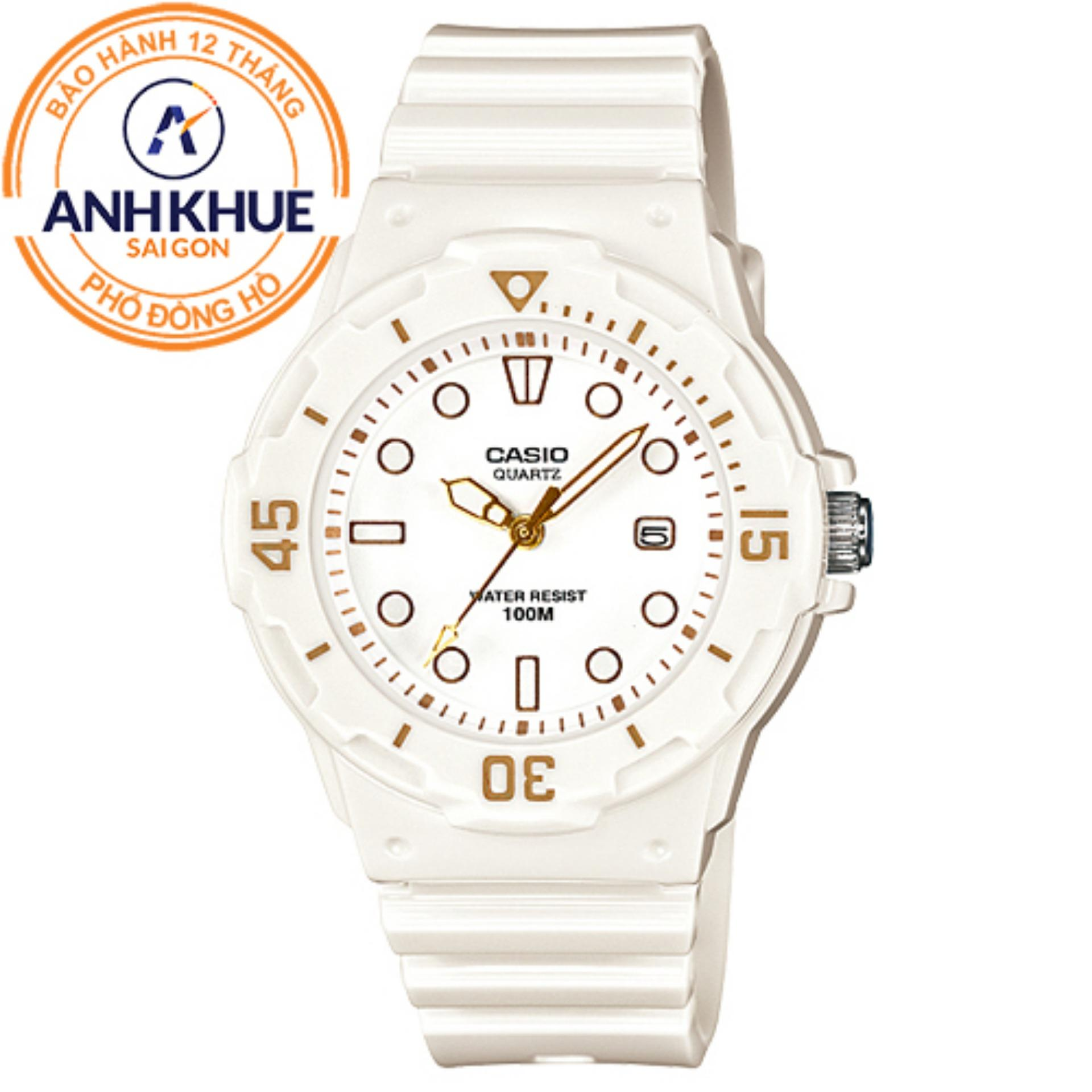 Đồng hồ nữ dây nhựa Casio Anh Khuê LRW-200H-7E2VDF