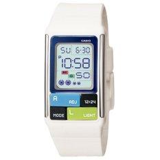 Đồng hồ nữ dây nhựa Casio LDF-50-7DR