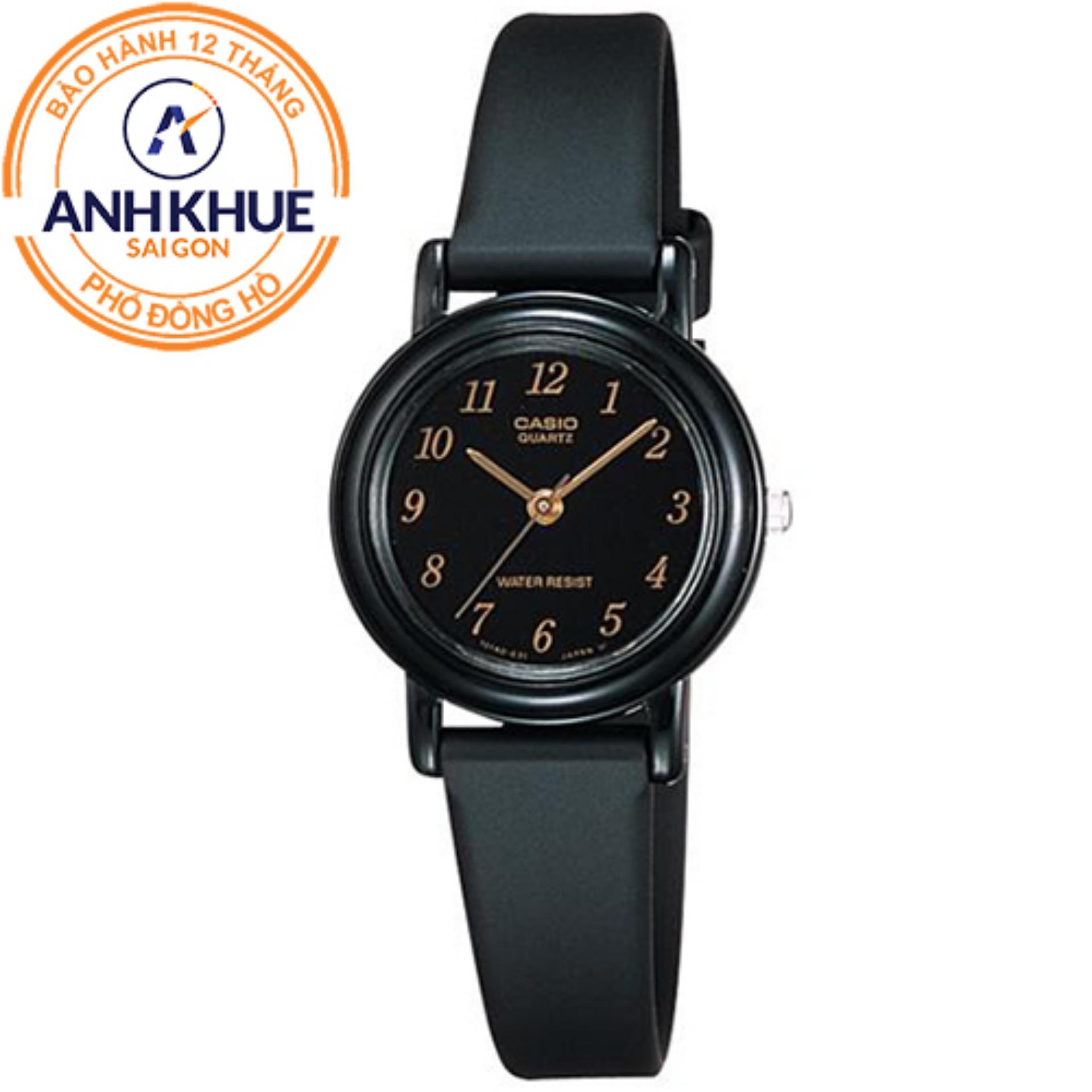 Đồng hồ nữ dây nhựa Casio Anh Khuê LQ-139AMV-1LDF
