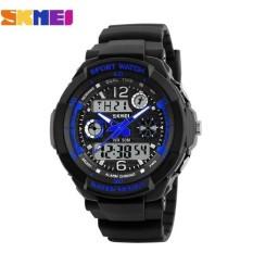 Đồng hồ nữ dây nhựa Sport Skmei S-Shock 10KN60-02 (Mặt Đen Xanh)