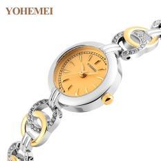 Đồng hồ nữ lắc tay đính đá YOHEMEI CH368 – D9A