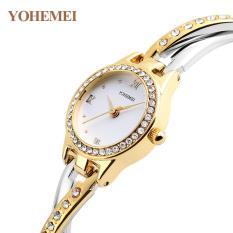 Đồng hồ nữ lắc tay đính đá YOHEMEI CH369 – D7A