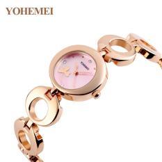 So Sánh Giá Đồng hồ nữ lắc tay đính đá YOHEMEI CH377 – 10A