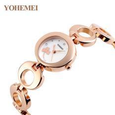 Giảm giá Đồng hồ nữ lắc tay đính đá YOHEMEI CH377 – 7A