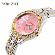 Đồng hồ nữ lắc tay đính đá YOHEMEI CH383 – 10A