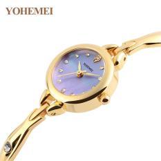 Đồng hồ nữ lắc tay đính đá YOHEMEI CH384 – 8A